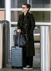 PFW Celebs return to LA from PFW - 7 March 2019