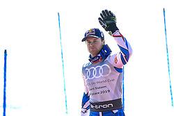 March 16, 2019 - El Tarter, Andorra - Alexis Pinturault of France Ski Team, during Men's Giant Slalom Audi FIS Ski World Cup race, on March 16, 2019 in El Tarter, Andorra. (Credit Image: © Joan Cros/NurPhoto via ZUMA Press)