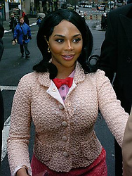 Mar 11, 2005; Manhattan, New York, USA; Rap artist LIL' KIM arrives at Manhattan Federal Court to face charges that she lied to a grand jury in relation to a 2001 shooting outside Manhattan radio station Hot 97.