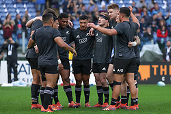 November 24, 2018 - Rome, Rome, Italy - New Zealand Team during the Test Match 2018 between Italy and New Zealand at Stadio Olimpico on November 24, 2018 in Rome, Italy. (Credit Image: © Emmanuele Ciancaglini/NurPhoto via ZUMA Press)
