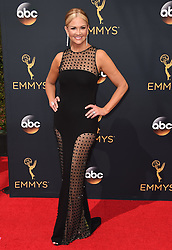 Nancy O'Dell attends the 68th Annual Primetime Emmy Awards at Microsoft Theater on September 18, 2016 in Los Angeles, CA, USA. Photo by Lionel Hahn/ABACAPRESS.COM