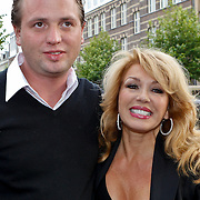 NLD/Amsterdam/20100913 - Verjaardagsfeestje Modemeisjes met een missie, Patricia Paay en partner Nikkie van Dam