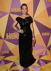 07 January 2018 - Beverly Hills, California - Dawn-Lyen Gardner. 2018 HBO Golden Globes After Party held at The Beverly Hilton Hotel in Beverly Hills. Photo Credit: Birdie Thompson/AdMedia