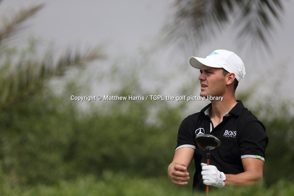 Martin KAYMER (GER) during fourth round HSBC Abu Dhabi Championship 2014,Abu Dhabi Golf Club,Abu Dhabi,UAE.
