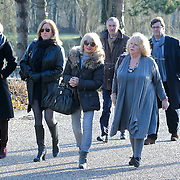 NLD/Amsterdam/20120127 - Uitvaart Jeroen Soer, Tineke de Nooy
