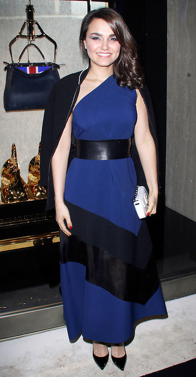 © Licensed to London News Pictures. 01/05/2014, UK. Lily Samantha Barks - Store Launch Party, New Bond Street, London UK, 01 May 2014. Photo credit : Brett D. Cove/Piqtured/LNP