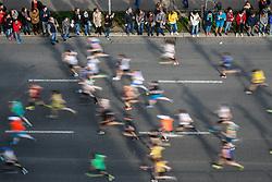 07.04.2019, Wien, AUT, Vienna City Marathon 2019, im Bild Feature Läufer// during the Vienna City Marathon 2019 in Vienna, Austria on 2019/04/07. EXPA Pictures © 2019, PhotoCredit: EXPA/ Florian Schroetter