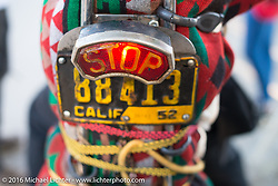 Stop! Born Free Campground before the Motorcycle Show-8 at Oak Canyon Ranch. Silverado, CA, USA. Saturday June 25, 2016.  Photography ©2016 Michael Lichter.