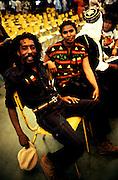 Ijahman at Bob Marley's Funeral
