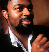 Ben Okri, poet and Booker Prize winning novelist. Born in 1959 in Nigeria.