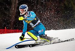 05.03.2017, Podkoren, Kranjska Gora, SLO, FIS Weltcup Ski Alpin, Kranjska Gora, Slalom, Herren, 1. Lauf, im Bild Jonathan Nordbotten (NOR) // Jonathan Nordbotten of Norway in action during his 1st run of men's Slalom of FIS ski alpine world cup at the Podkoren in Kranjska Gora, Slovenia on 2017/03/05. EXPA Pictures © 2017, PhotoCredit: EXPA/ Johann Groder