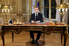Macron declares state of economic and social emergency in France - 10 Dec 2018