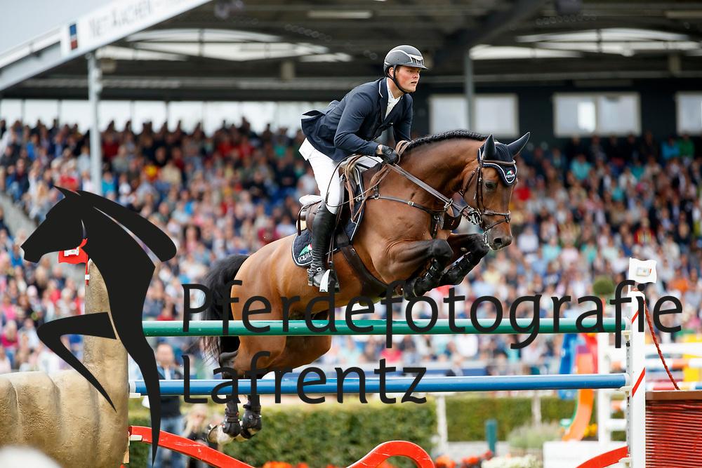 Tebbel, Maurice (GER), Chaccos' Son<br /> Aachen - CHIO 2017<br /> Grosser Preis von Aachen Rolex Grand Prix<br /> © www.sportfotos-lafrentz.de/Stefan Lafrentz