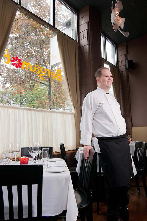 Bergamot restaurant chef and owner Keith Pooler on location in Somerville, MA.