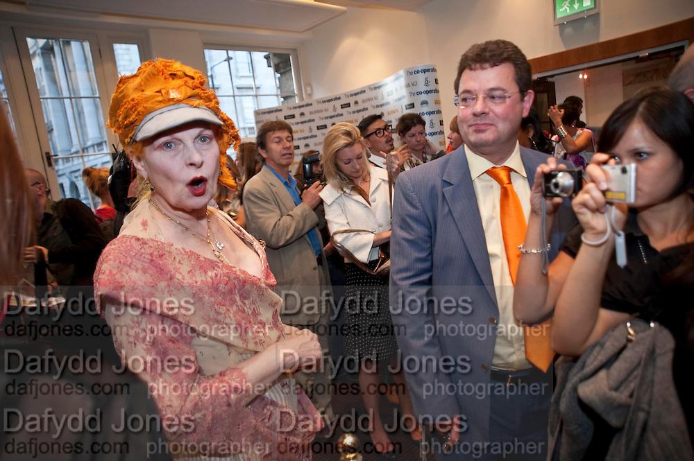 VIVIENNE WESTWOOD, ÒSAFFRON TUESDAYÓ UK PREMIERE OF BURMA VJ <br />  BAFTA, Piccadilly, LONDON. 14 July 2009<br /> VIVIENNE WESTWOOD, ?SAFFRON TUESDAY? UK PREMIERE OF BURMA VJ <br />  BAFTA, Piccadilly, LONDON. 14 July 2009