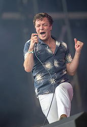 Friendly Fires on the main stage, TRNSMT Sunday 8th July 2018