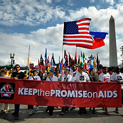 AIDS Conference in Washington