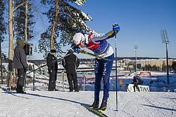 March 2, 2018 - Lahti, FINLAND - 180302 Emil Jönsson of Sweden during a training session ahead of the FIS Cross-Country World Cup on March 02, 2018 in Lahti. .Photo: Fredrik Varfjell / BILDBYRÃ…N / kod FV / 150069 (Credit Image: © Fredrik Varfjell/Bildbyran via ZUMA Press)