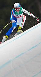13.02.2011, Kandahar, Garmisch Partenkirchen, GER, FIS Alpin Ski WM 2011, GAP, Damen, Abfahrt, im Bild Verena Stuffer (ITA) // Verena Stuffer (ITA) during Downhill Ladies Fis Alpine Ski World Championships in Garmisch Partenkirchen, Germany on 13/2/2011. EXPA Pictures © 2011, PhotoCredit: EXPA/ J. Groder