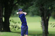 Leon Giblin (Carton House) during the Connacht U14 Boys Amateur Open, Ballinasloe Golf Club, Ballinasloe, Galway,  Ireland. 10/07/2019<br /> Picture: Golffile   Fran Caffrey<br /> <br /> <br /> All photo usage must carry mandatory copyright credit (© Golffile   Fran Caffrey)