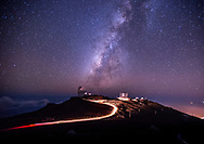Maui's Haleakala Volcano at Midnight