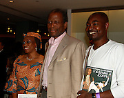 **EXCLUSIVE**.Sidney Poitier..Pras Michel of The Fugees Honoring The First Ladies of Africa at a Cocktail Reception in partnership US Doctors For AFRICA..WP Wolfgang Puck Restaurant..Pacific Design Center..West Hollywood, CA, USA..Monday, April 20, 2009..Photo By Celebrityvibe.com.To license this image please call (212) 410 5354; or Email: celebrityvibe@gmail.com ; .website: www.celebrityvibe.com.
