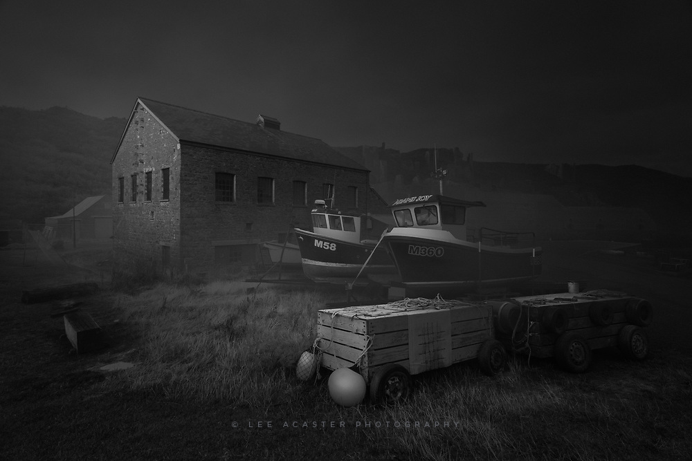 Dark deeds in Porthgain