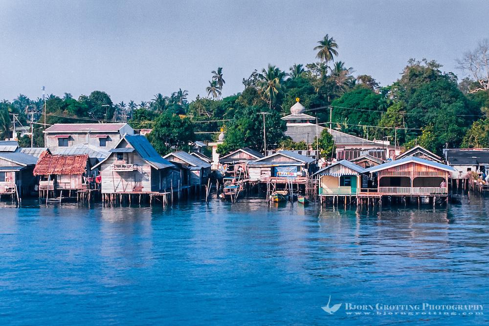 Riau Islands, Bintan. Tanjung Uban is located on the north west coast of Bintan.