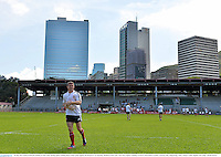 30 May 2013; Brian O'Driscoll, British & Irish Lions, during squad training ahead of their game against Barbarian FC on Saturday. British & Irish Lions Tour 2013, Squad Training, Aberdeen Sports Ground, Aberdeen, Hong Kong, China. Picture credit: Stephen McCarthy / SPORTSFILE