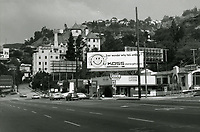 1973 Hotel Chateau Marmont on Sunset Blvd.