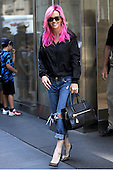 Jenny McCarthy was seen leaving Sirius Radio in New York City