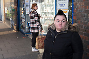 People out and about on Kings Heath High Street on 13th March 2020 in Birmingham, United Kingdom. Kings Heath is a suburb of Birmingham, three miles south of the city centre. It is the next suburb south from Moseley.