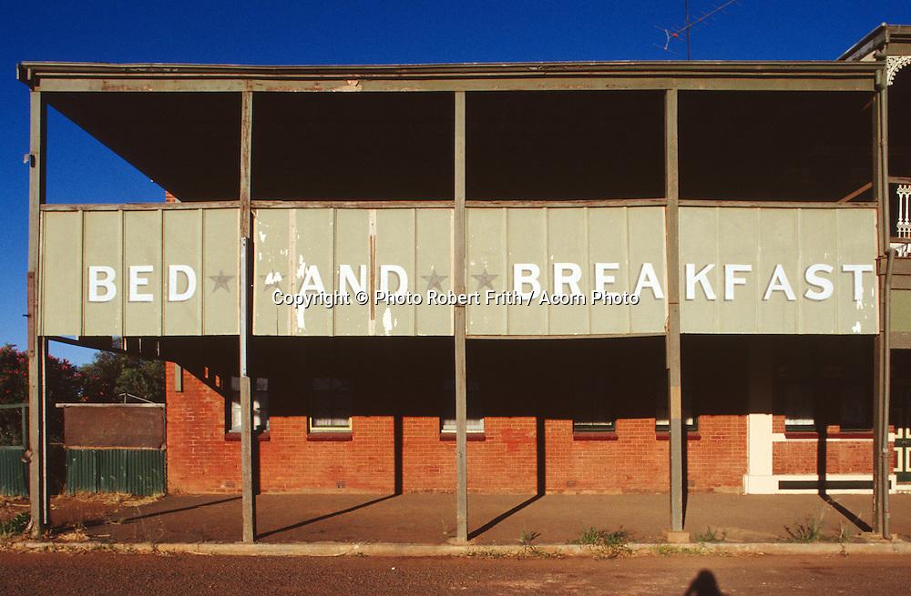 Bed and Breakfast<br /> The Denver City Hotel, Coolgardie