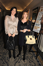 Left to right, KIRSTIE ALLSOPP and CLEMENTINE FRASER at the In Style Handbag Auction is association with Revlon raising money for the Rainbow Trust children's charity held at the Berkeley Hotel, Knightsbridge, London on 4th November 2008.
