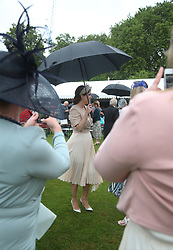 Princess Eugenie during a Royal Garden Party at Buckingham Palace in London.