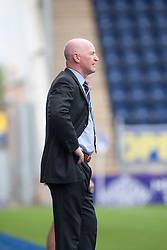 Dundee's  manager John Brown.<br /> Falkirk 3 v 1 Dundee, 21/9/2013.<br /> ©Michael Schofield.