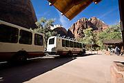 Tram, Bus, Zion National Park, Utah