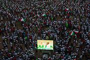 Supporters at the last NDC regional rally. Accra Sports Stadium, Accra-Ghana. December 5, 2016. Photo: Francis Kokoroko