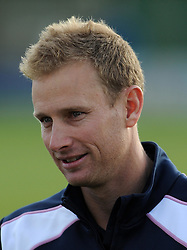Middlesex's Adam Voges - Photo mandatory by-line: Harry Trump/JMP - Mobile: 07966 386802 - 29/04/15 - SPORT - CRICKET - LVCC Division One - County Championship - Somerset v Middlesex - Day 4 - The County Ground, Taunton, England.