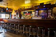 Bardisken har detaljer från ett skepp. Simon's Tavern i Andersonville, Chicago, Illinois, USA<br /> <br /> Foto: Christina Sjögren