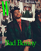 May 04, 2021 - US: Bad Bunny Covers W Magazine - The Music Issue