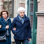 NLD/Amsterdam//20170309 - Herdenkingsdienst Guus Verstraete, Anne Will Blankers en Anne-Mieke Ruyten
