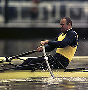 © 2000 All Rights Reserved - Peter Spurrier Sports Photo. <br />Tel 44 (0) 1784-440 771  <br />Mobile 44 (0) 973 819 551<br />email pictures@rowingpics.com<br /><br />Vaclav Chalupa 20010301 Thames World Sculling Challenge, Putney, London