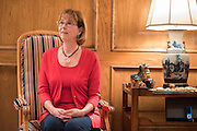 Mary Ann Whiteker, Superintendent of Hudson ISD, poses for a portrait in Lufkin, Texas on March 8, 2016. (Cooper Neill for The New York Times)