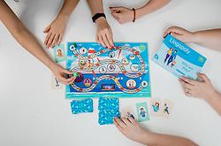 Game Lingopoly at Jezikovno mesto on June 29, 2021 in  Ljubljana, Slovenia. Photo by Vid Ponikvar / Sportida