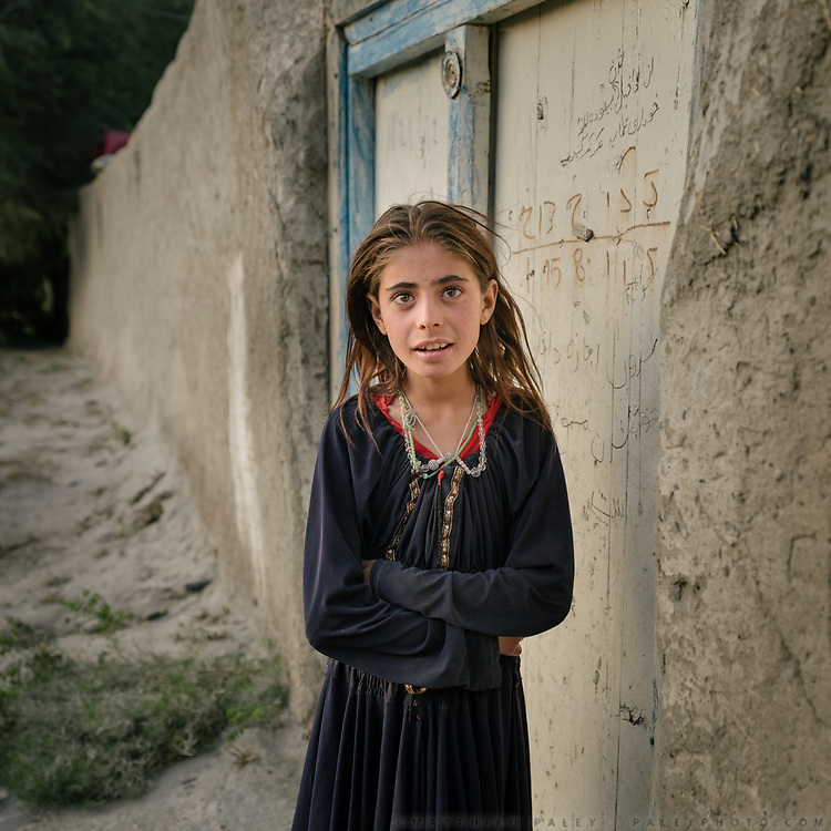 Girl. The traditional life of the Wakhi people, in the Wakhan corridor, amongst the Pamir mountains.