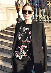Schiaparelli Fashion show arrivals in Paris. 21 Jan 2019 Pictured: Olivia Palermo. Photo credit: Neil Warner/MEGA TheMegaAgency.com +1 888 505 6342