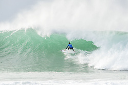 July 20, 2017 - Rookie Frederico Morais of Portugal has advanced to the first final of his career at the Corona Open J-Bay after defeating 2015 World Champion Gabriel Medina of Brazil in Semifinal Heat 1 in overhead conditions at Supertubes, Jeffreys Bay, South Africa...Corona Open J-Bay, Eastern Cape, South Africa - 20 Jul 2017. (Credit Image: © Rex Shutterstock via ZUMA Press)