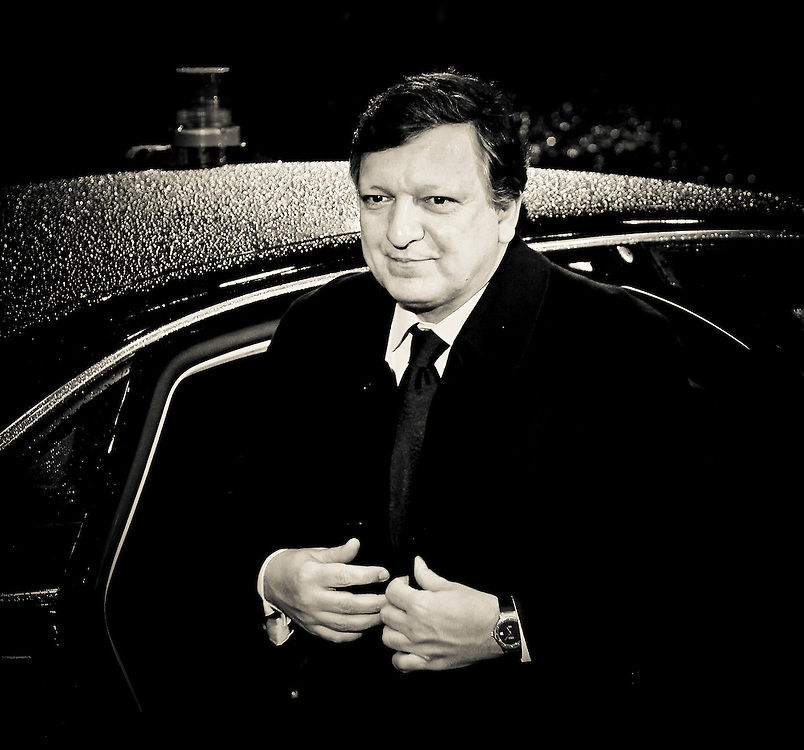 Brussels, Belgium 16 December 2010<br /> European Commission President Jose Manuel Barroso arrives at the European Union leaders summit in Brussels.<br /> Photo: SCORPIX /  Patrick Mascart