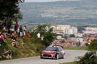 MOTORSPORT - WORLD RALLY CHAMPIONSHIP 2010 - RALLY BULGARIA / RALLYE DE BULGARIE - BOROVETS (BUL) - 08 TO 11/07/2010 - PHOTO : FRANCOIS BAUDIN / DPPI - <br /> SEBASTIEN LOEB (FRA) / DANIEL ELENA (MON) - CITROEN TOTAL RALLY TEAM - CITROEN C4 WRC - ACTION